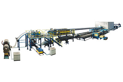 PU/PIR/Rockwool Continuous Sandwich Panel Production Line