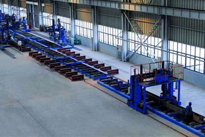 Box Column Welding Line